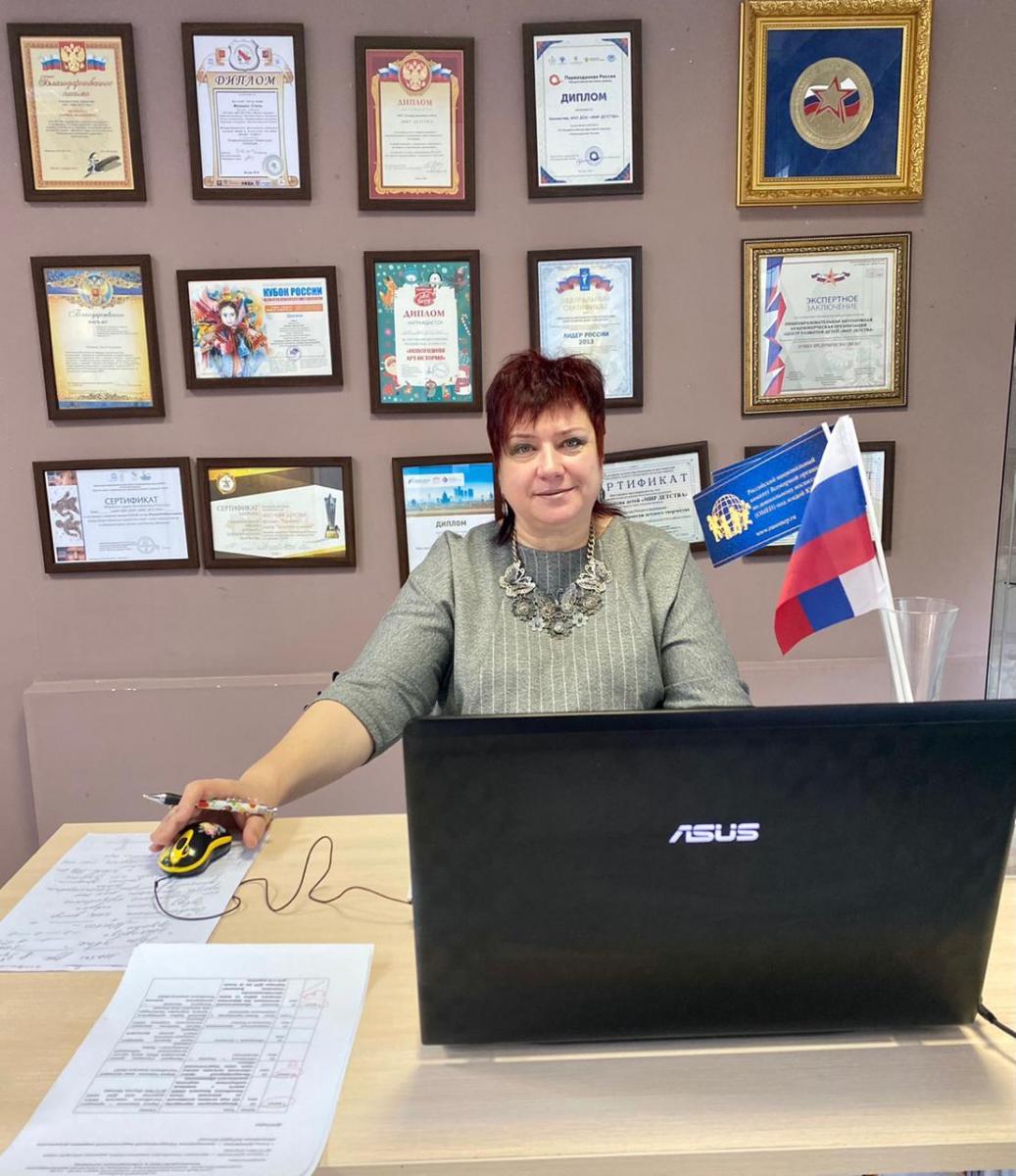 Лариса Шевченко - Президент Комитет ОМЕП